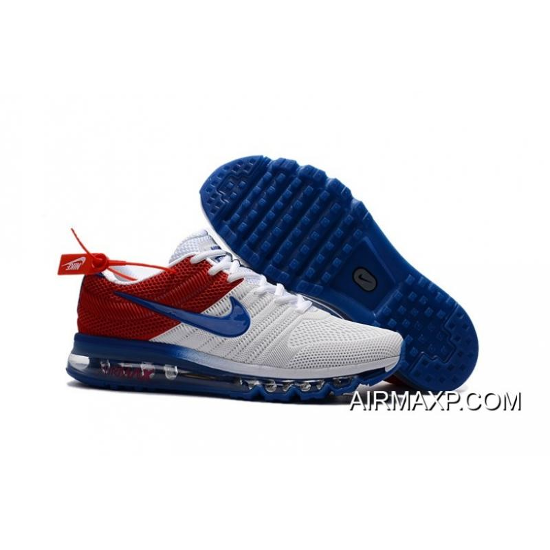 air max shoes red and blue