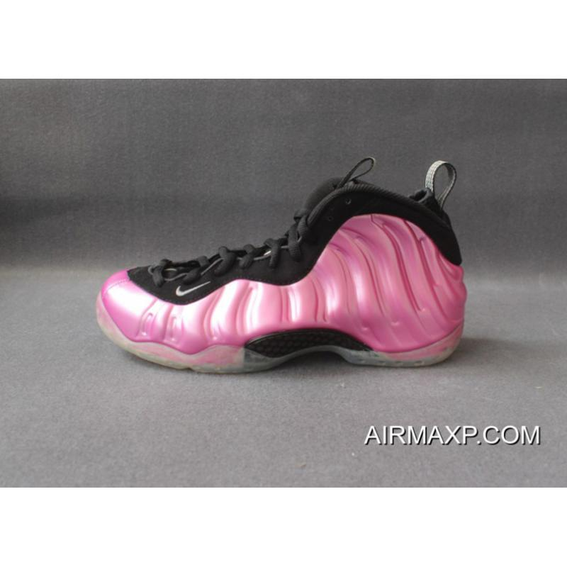 competitive price e3c27 97731 Nike Air Foamposite One Polarized Pink And Metallic Silver-Black-White Best  ...