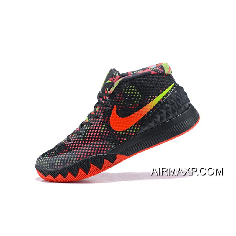 hot sale online 5c009 486d4 shopping nike kyrie 1 women shoes two colors for sale 7faf8 26701  hot nike  kyrie 1 dream black white bright crimson anthracite big discount 835e6 23982