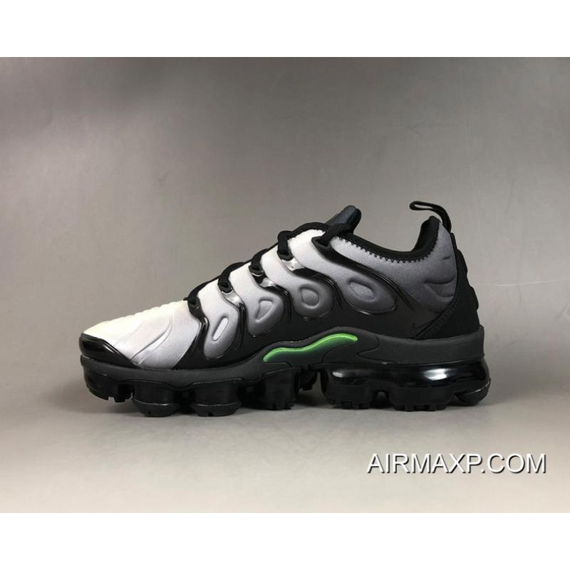 78d2548eba64 Top Deals Nike Air VaporMax Plus Black Volt-White ...