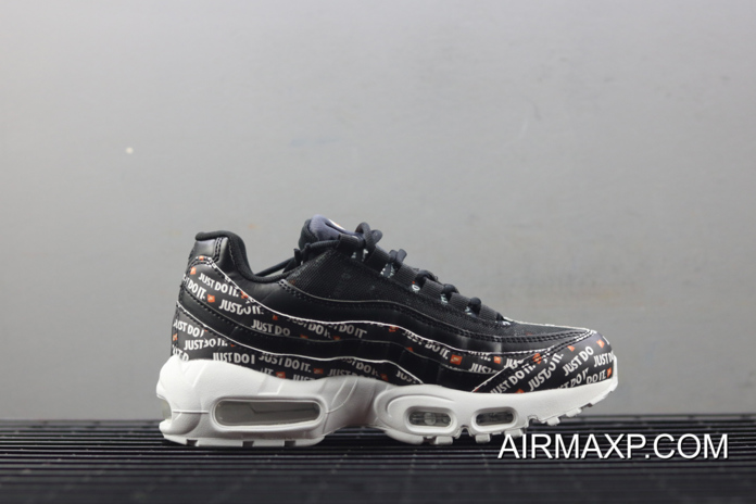 "size 40 92946 9e0ed Women New Style Nike Air Max 95 ""Just Do It"" Black"