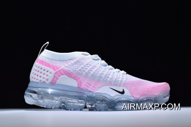 7fe1100af5 Women Top Deals Nike WMNS Air VaporMax 2.0 White And Hydrogen Blue-Pink