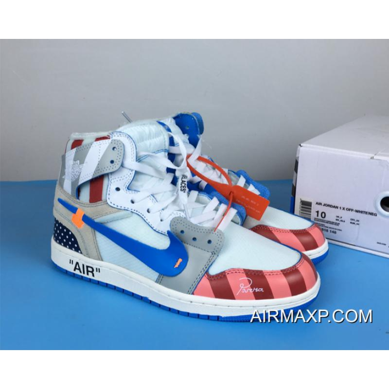 air jordan 1 off white blue price
