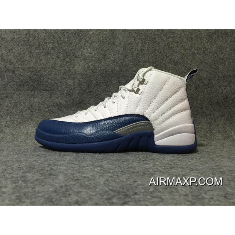 8c4bcca98d697f Women Men Air Jordan 12  French Blue  White And French Blue Buy Now ...