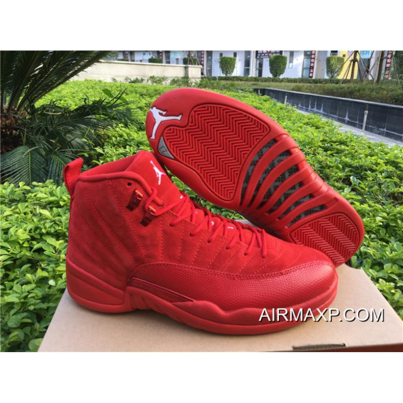 best website 55e93 79855 Air Jordan 12 Red Suede Where To Buy