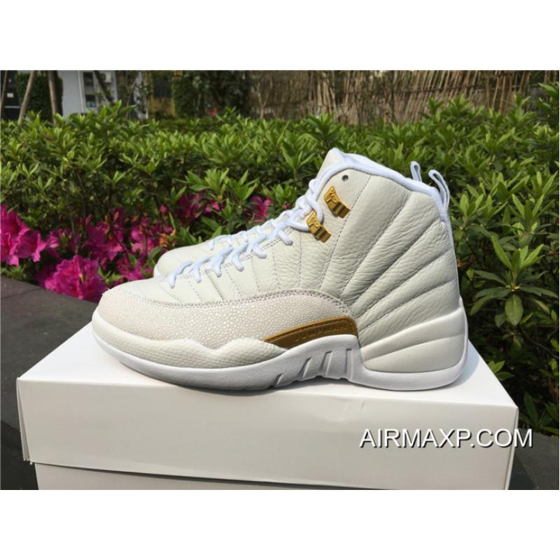 ad4726f8305bad ... Air Jordan 12 OVO  White  873864-102 New Release ...