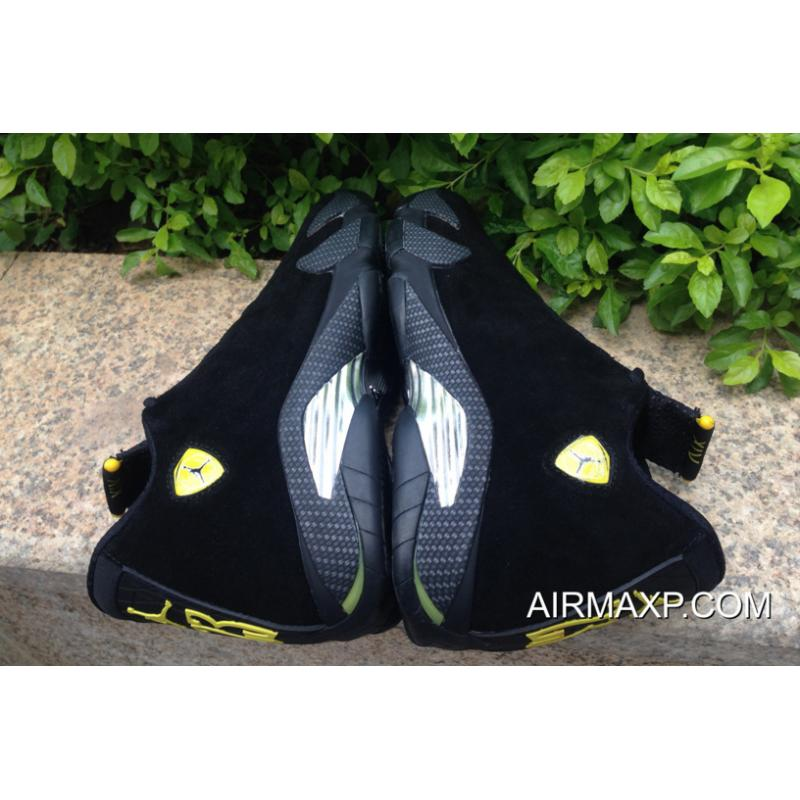 official photos e9e12 7499d ... For Sale Air Jordan 14  Ferrari  Black And Vibrant Yellow-Anthracite- Black ...