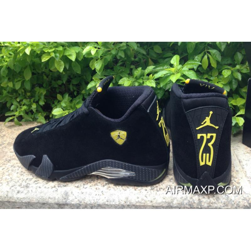 san francisco b73ff b4d6e ... czech for sale air jordan 14 ferrari black and vibrant yellow  anthracite black bd832 f423a