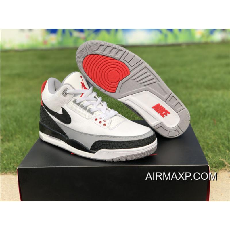 premium selection 910ed ad99a Air Jordan 3 Tinker NRG White/Fire Red/Cement Grey-Black Latest