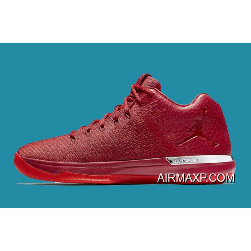 3c51d8ee012b0f ... Online Air Jordan XXX1 Low  Chicago Away  Gym Red And Action Red-Chrome