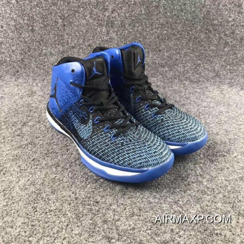 release date: f50b8 5e514 ... Air Jordan XXX1  Royal  Black And Game Royal-White New Release
