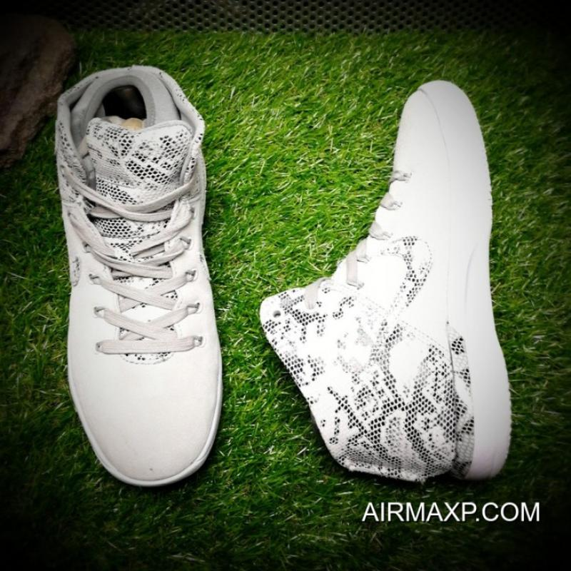 ... Air Jordan XXX1  Snakeskin  White And Suede Grey For Sale ... 64d6223355