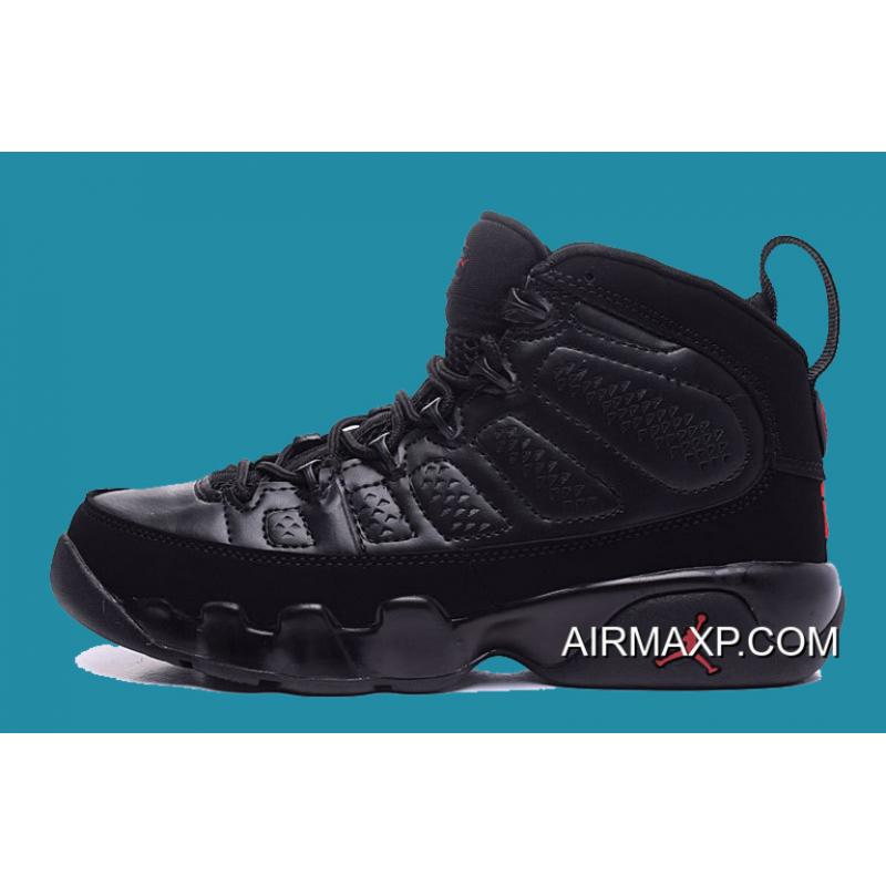 0d426cb2509 ... Discount Air Jordan 9 'Bred 2018' Black And Anthracite-University Red  ...