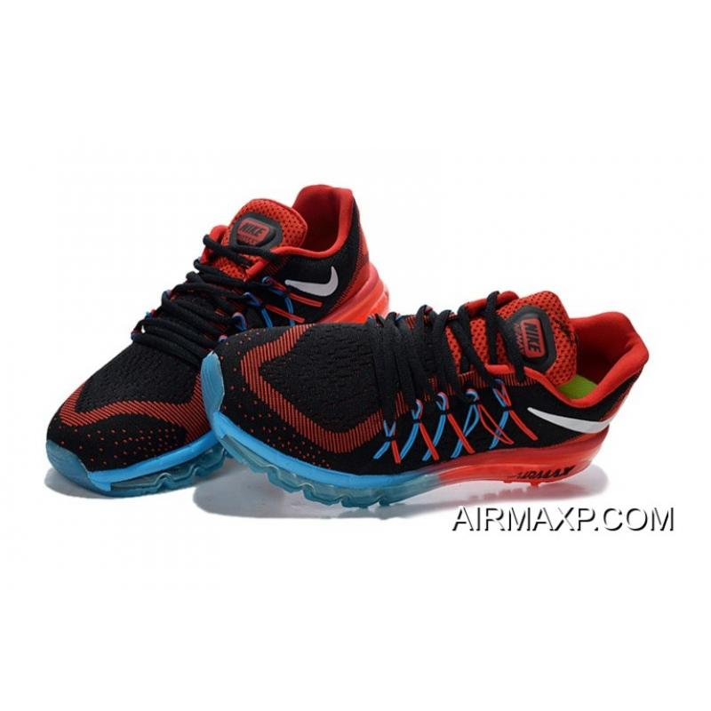 27ebe822f3e0 ... coupon code for air max 2015 flyknit red black blue super deals 396c0  476bc