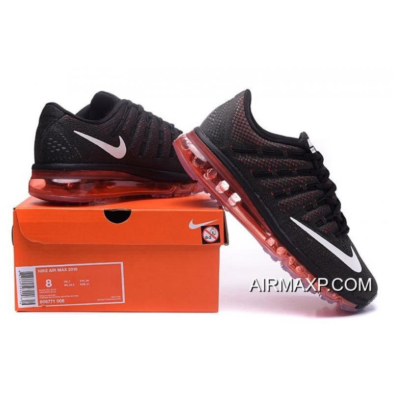 6da7867c91 Nike Air Max 2016 Black Red Pink For Men Online, Price: $70.70 ...