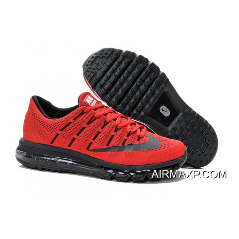 premium selection ce8eb 947a5 Nike Air Max 2016 Red Black Online ...