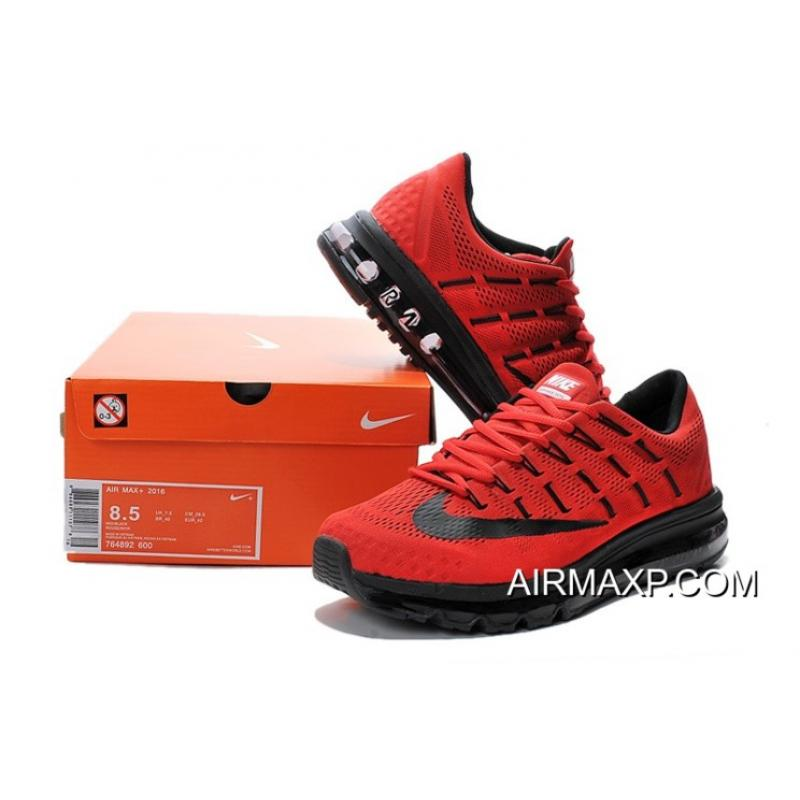 a4ebee754b Nike Air Max 2016 Red Black Online, Price: $70.89 - Discount AirMax ...