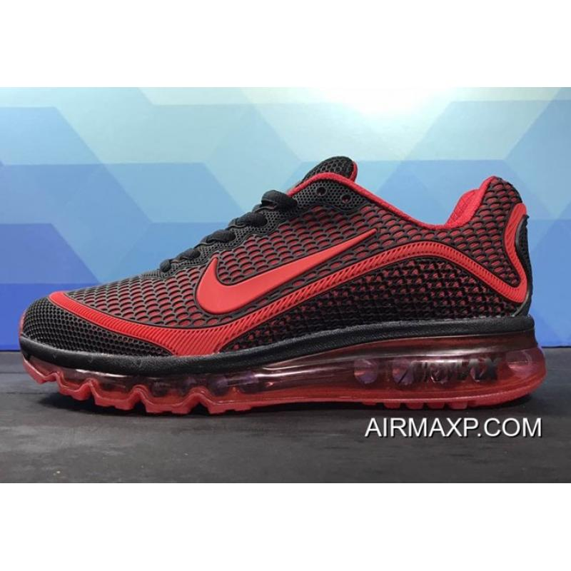 separation shoes 4caa9 a1a9a Nike Air Max 2017 New Black Red Outlet