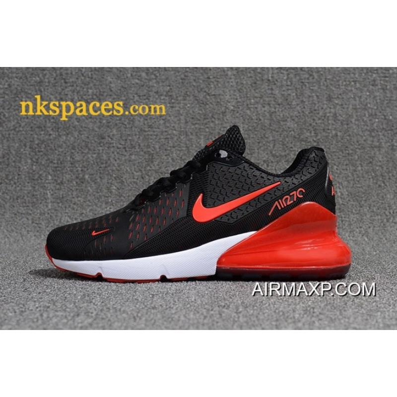 low priced 4ed83 f3073 Nike Air Max 270 Men Black Red Online