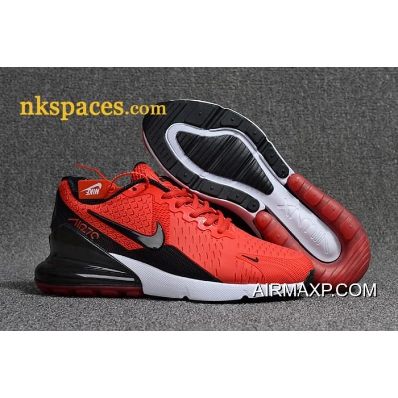 wholesale dealer a01ec e041a Nike Air Max 270 Men Red Black White New Year Deals