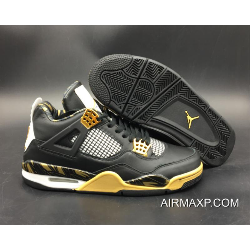 fe4a8961f32 Air Jordan 4 Retro 'Wings' Black Gold Top Deals, Price: $90.16 ...