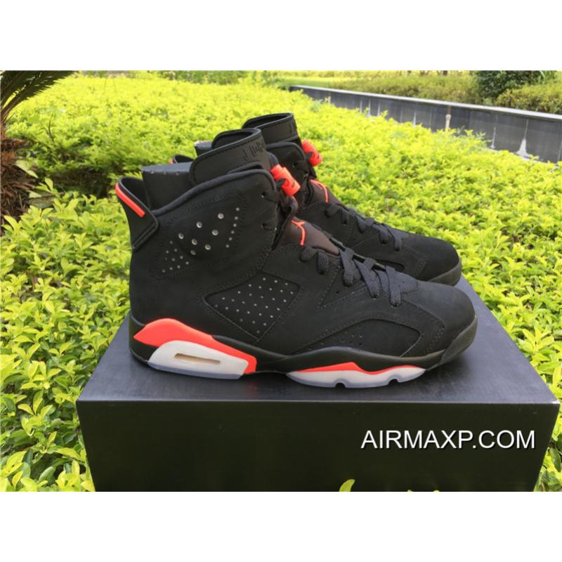 sports shoes 9e53a 8148e ... New Release Air Jordan 6  Black Infrared  Black And Infrared 23-Black  ...