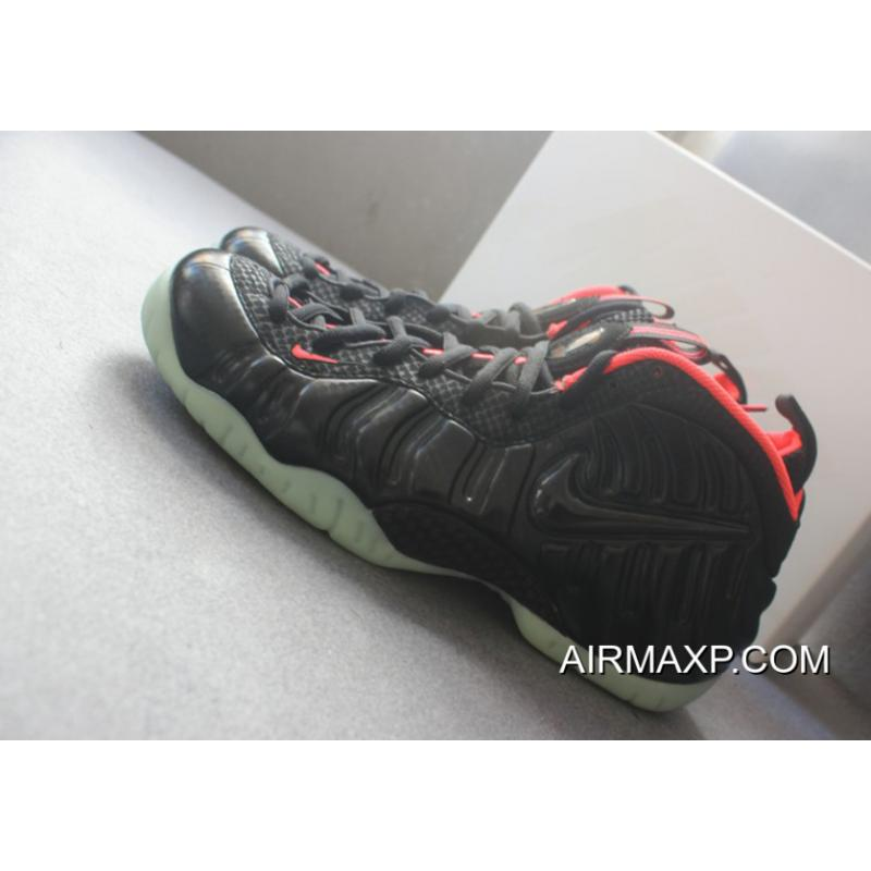 92d353b14 ... New Style Nike Foamposite Pro  Yeezy  Black And Laser Crimson ...