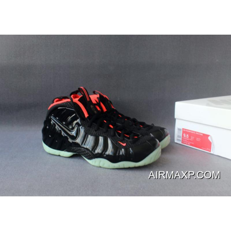 4b142ae06 ... New Style Nike Foamposite Pro  Yeezy  Black And Laser Crimson