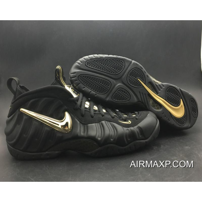 "4ab044348ef9 Nike Air Foamposite Pro ""Black Metallic Gold"" New Year Deals ..."