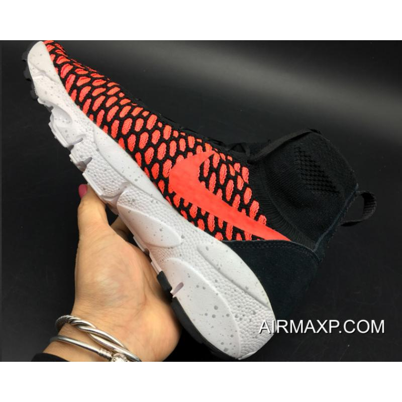 ... Nike Air Footscape Magista Black   Gym Red Authentic ... 50355471a0e1