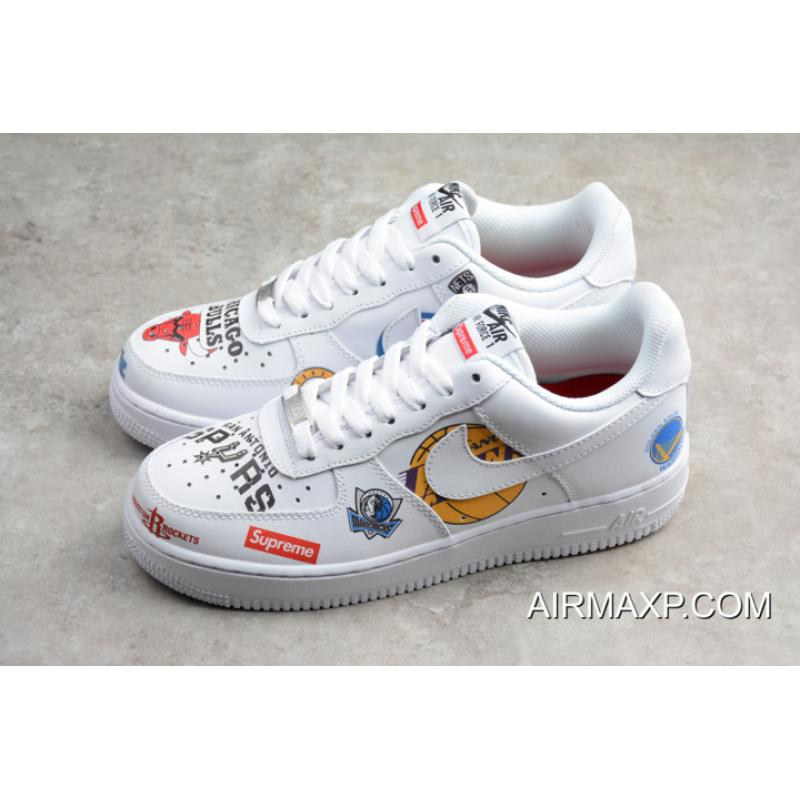 reputable site 8ceee d590a ... denmark supreme x nba x nike air force 1 low white authentic d2551 e6045