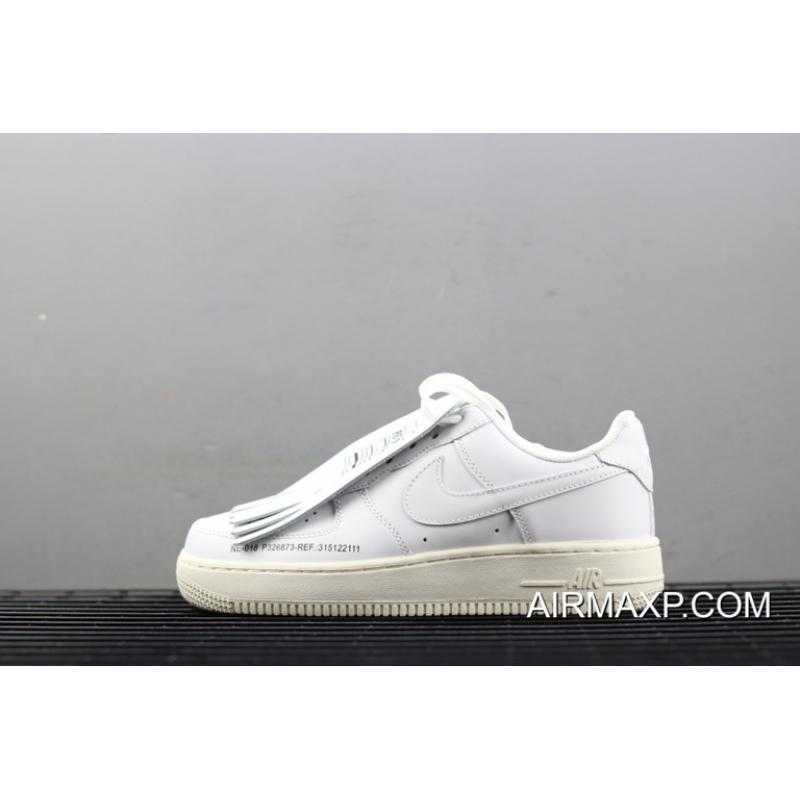 """17b239d845fe Women Men Piet X Nike Air Force 1 Low """"Old Golf Shoes"""" White New ..."""