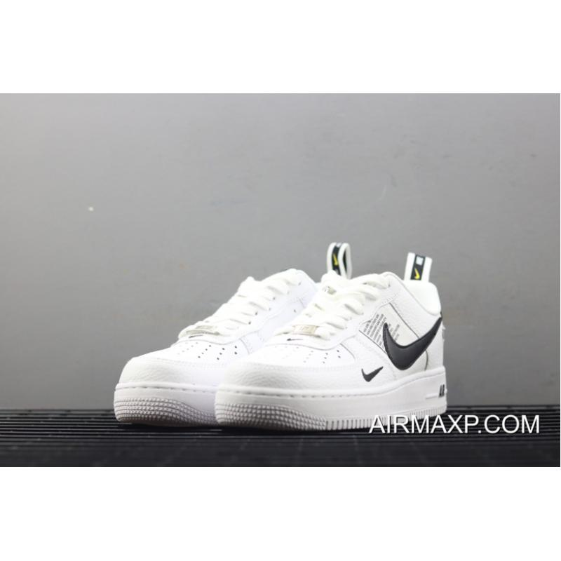 Nike Air Force 1 '07 Lv8 Utility WhiteWhite Black Tour