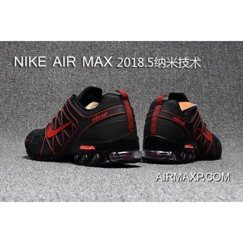 a79981c6a7 Nike Air Max 2018 Black Red Running Shoes Free Shipping, Price ...