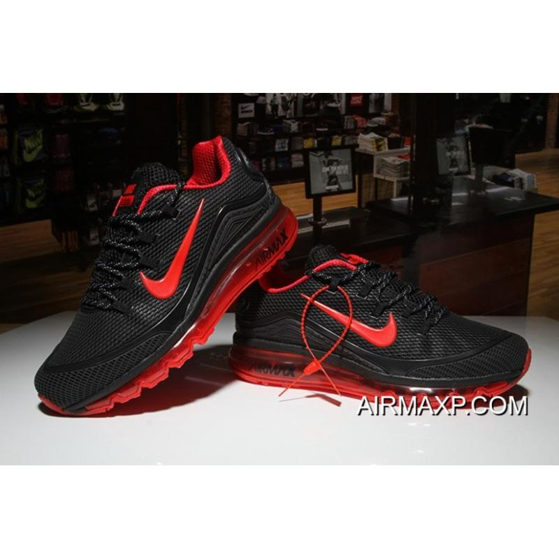 promo code b5a97 9f954 Nike Air Max 2018 Elite Black Red Super Deals ...