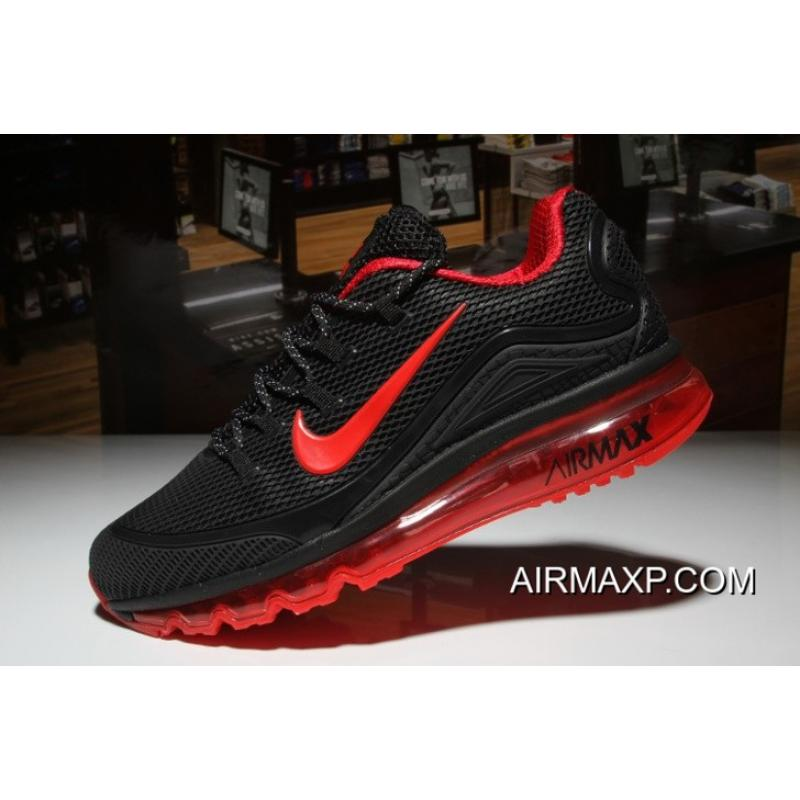 reputable site e7759 8752f Nike Air Max 2018 Elite Black Red Super Deals