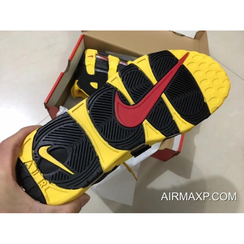 """7f69ab65df Nike Air More Uptempo """"Bruce Lee"""" Black And Yellow New Style, Price ..."""