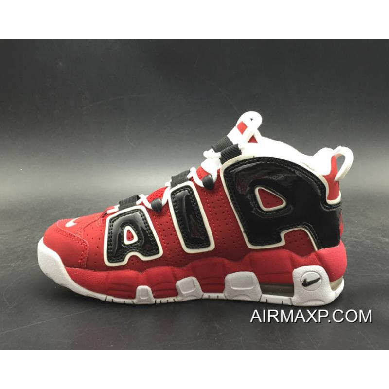 9ab9cc774bb ... Women Men Best Nike Air More Uptempo  Bulls  Varsity Red And White-
