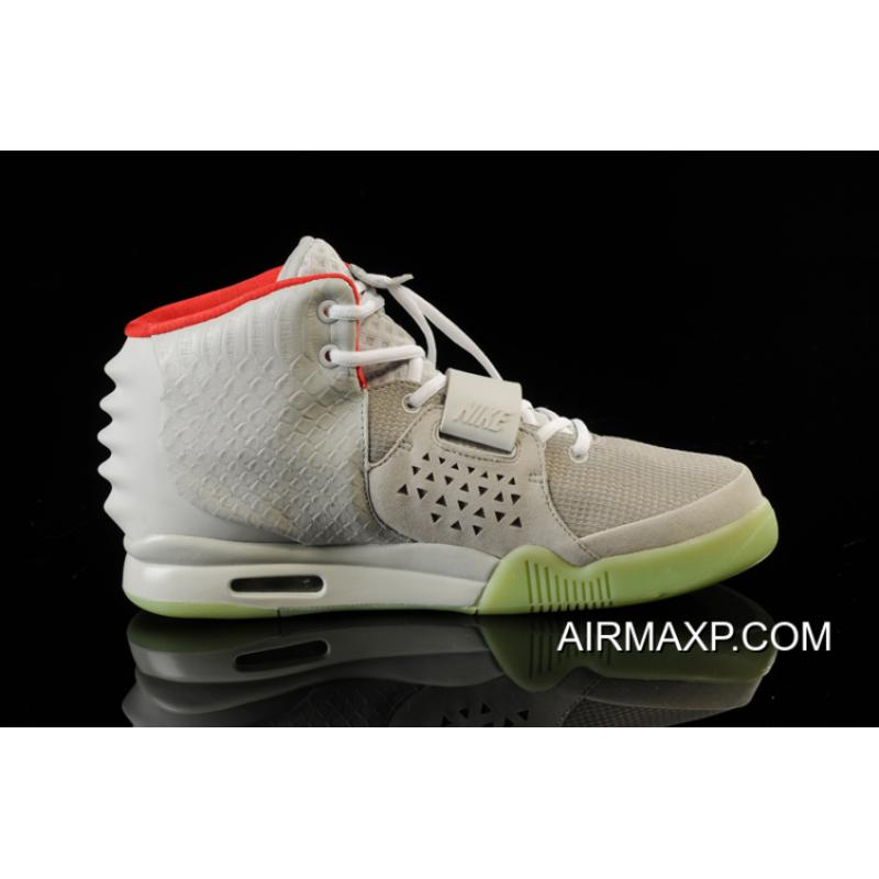 006774ce1ebcc ... platinum d50eb 38f85  usa women men glow in the dark nike air yeezy 2  wolf grey pure 63eed bbae6