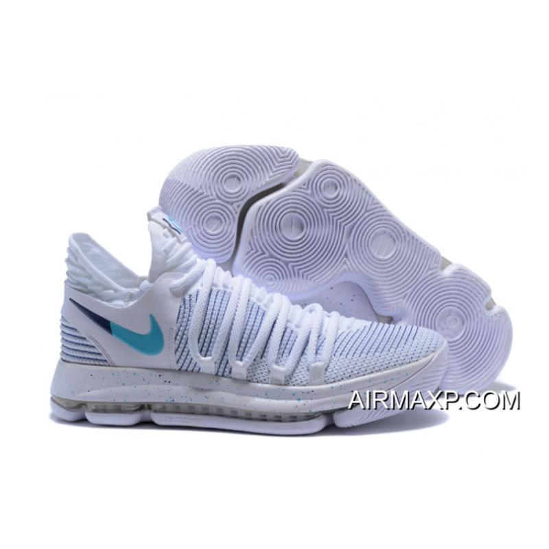 size 40 c496f 4a370 Big Deals Nike KD 10  Flip The Switch  White Blue ...