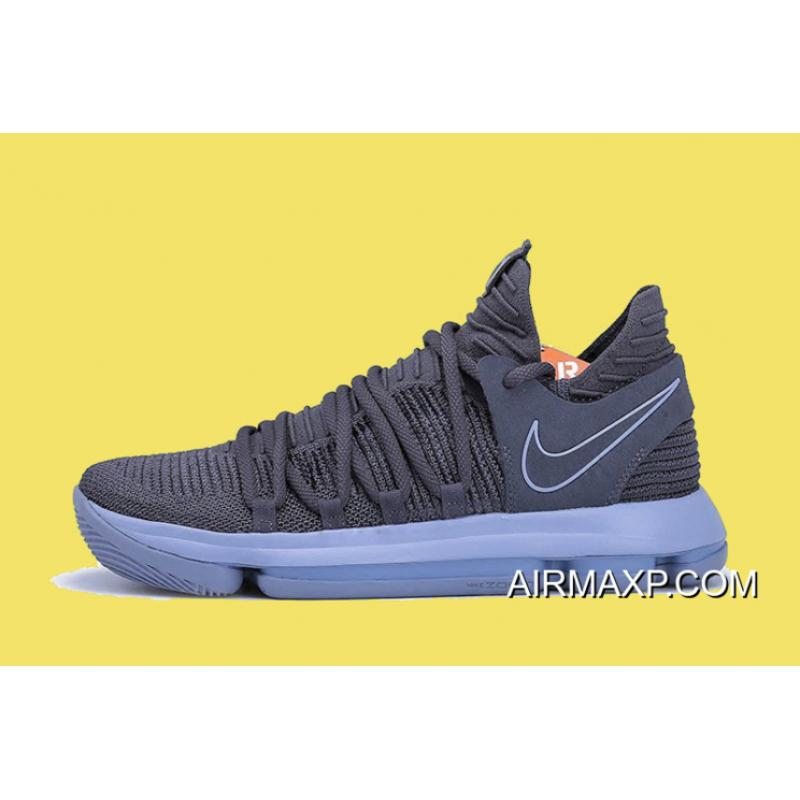 buy popular 38a17 5deea Nike KD 10 Dark Grey And Reflective Silver Big Deals ...