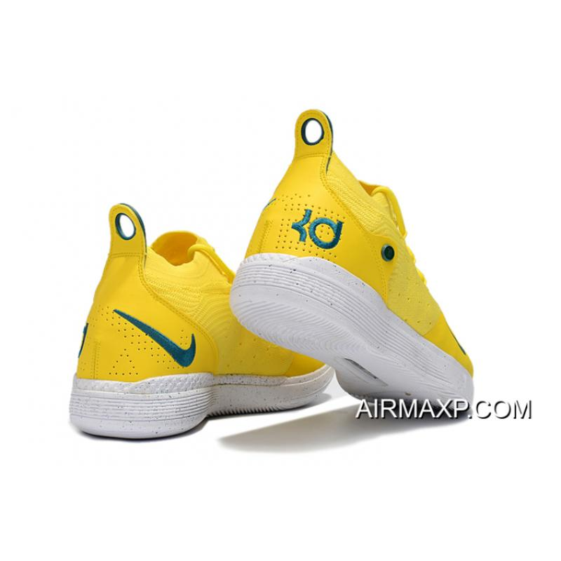"KD 11 Yellow Best Nike KD 11 ""Storm"" PE Yellow Green, Price: $87.34 - Discount ..."