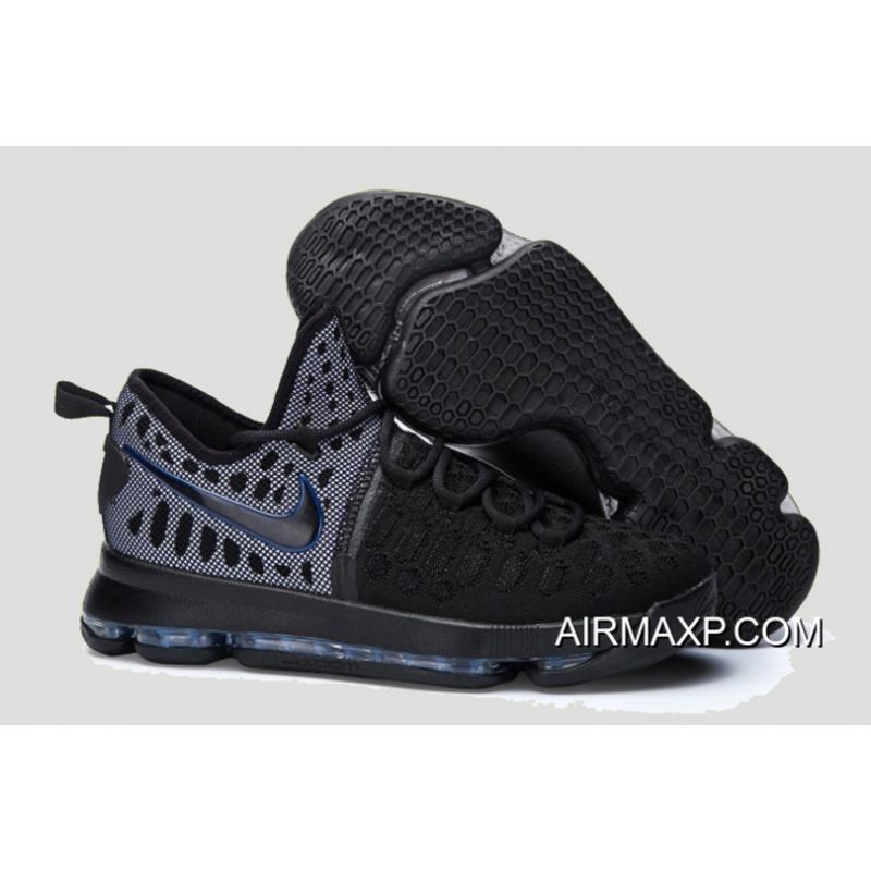 online retailer eb143 bd05a Outlet Nike KD 9 All Black ...