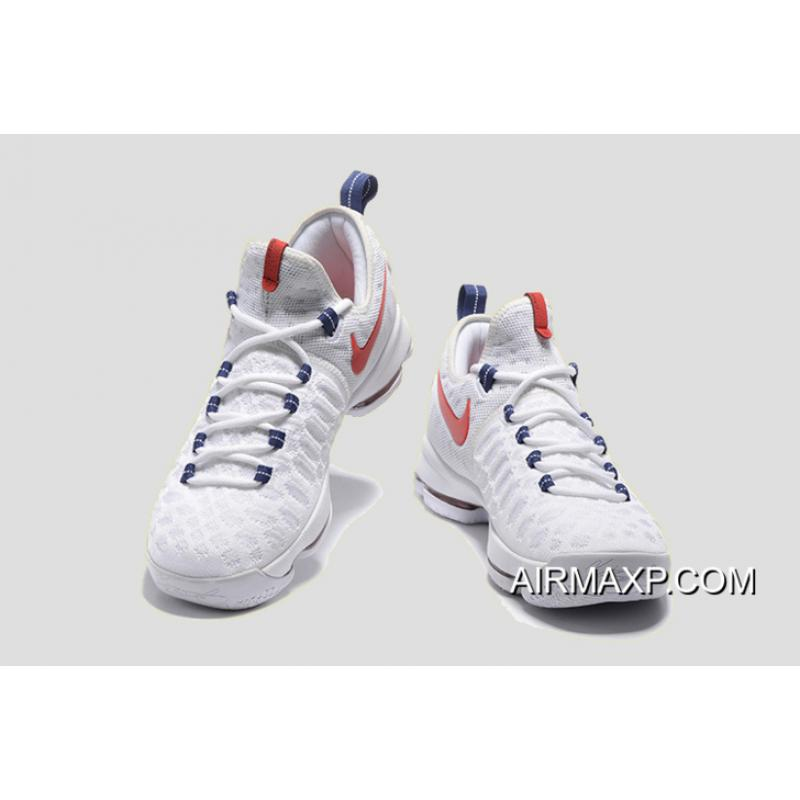 separation shoes caf15 ee1dd ... Discount Nike KD 9  USA  White University Red-Race Blue ...