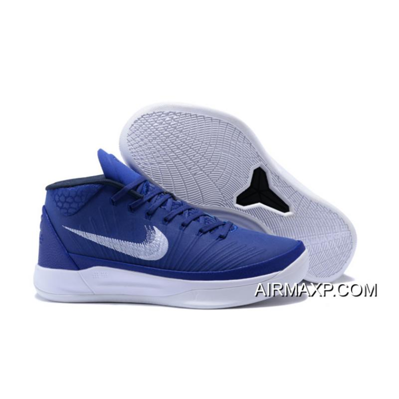 huge discount 3f26a fa6f7 Big Deals Nike Kobe AD Mid TB White And Navy