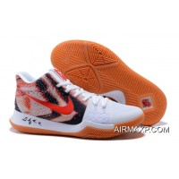 de1067fa8d8 Nike Kyrie 3 White Red And Black Tax Free
