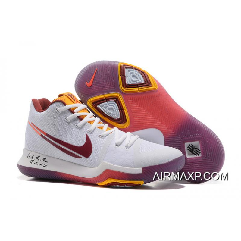 7b9af9b2b013 Nike Kyrie 3 White Purple And Yellow Top Deals ...