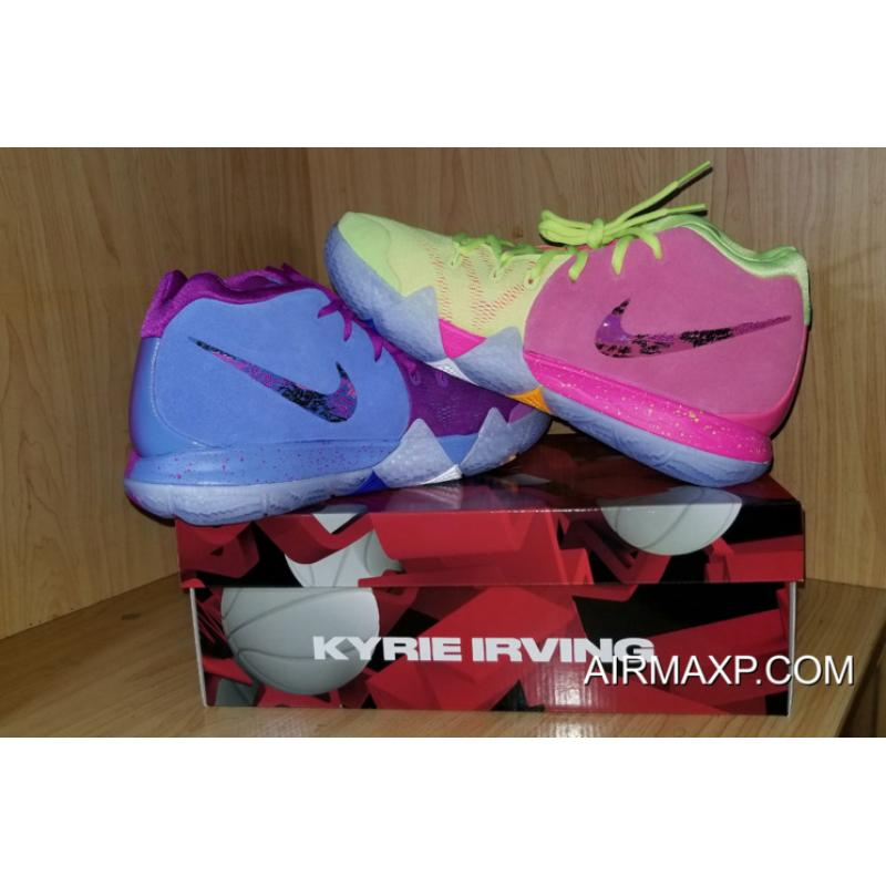 d8878512ad0d ... New Year Deals Nike Kyrie 4  Confetti  Multi-Color ...