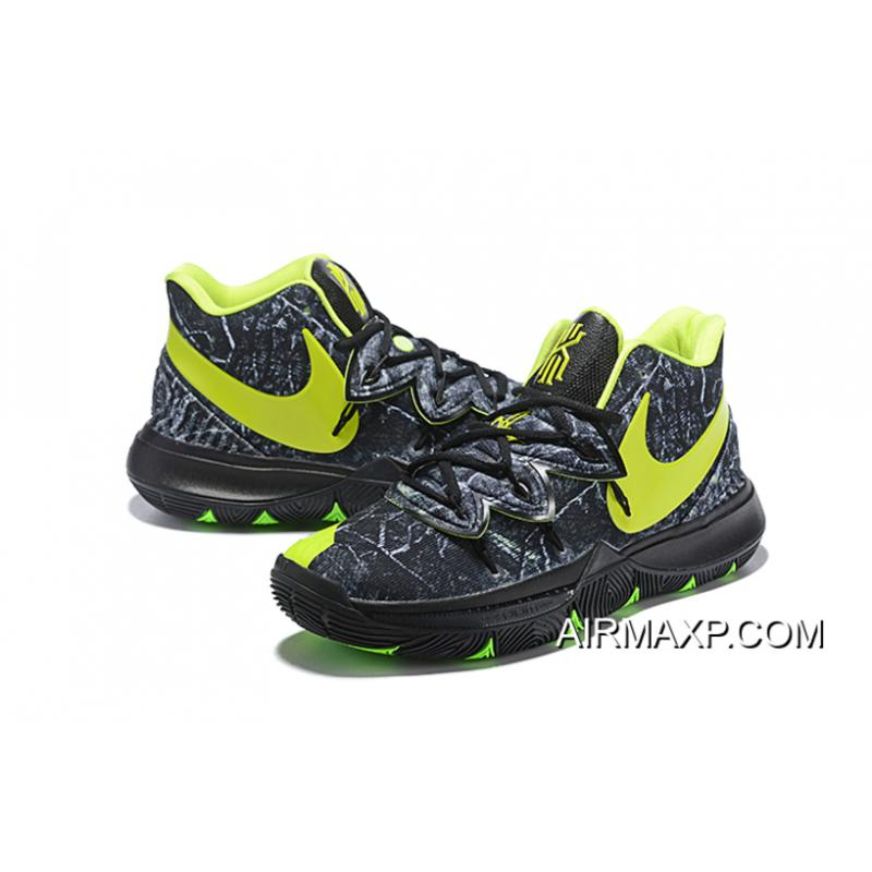 "innovative design 44a38 b26a7 ... Nike Kyrie 5 ""Celtics"" PE Black Green New Year Deals ..."