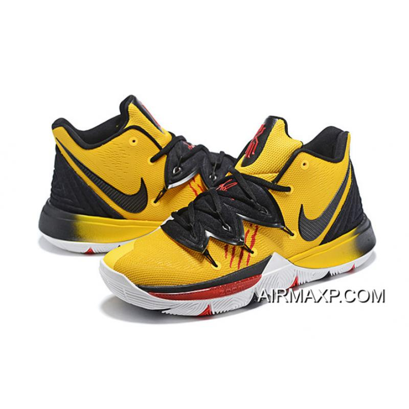 """new style 9acb2 019b3 Nike Kyrie 5 """"Bruce Lee"""" Mamba Mentality Tour Yellow/Black Authentic"""